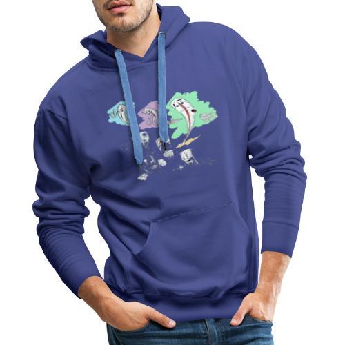 Sunny day - Mannen Premium hoodie