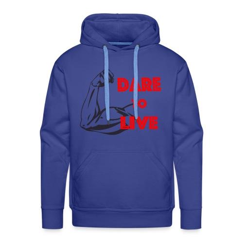 Dare2Live - Mannen Premium hoodie