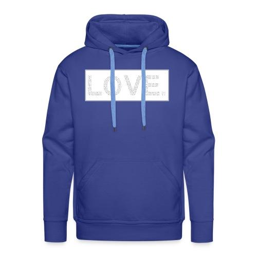 Love letters grey - Männer Premium Hoodie