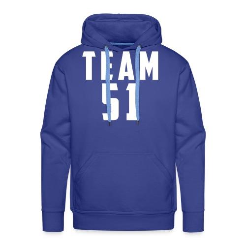 Logo team 51 modern - Sweat-shirt à capuche Premium pour hommes