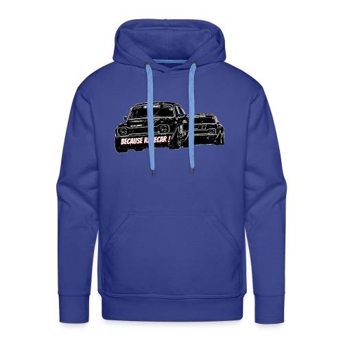 Racecar - Sweat-shirt à capuche Premium pour hommes