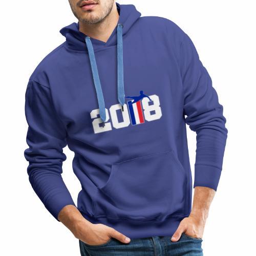 Coupe du monde - Sweat-shirt à capuche Premium pour hommes
