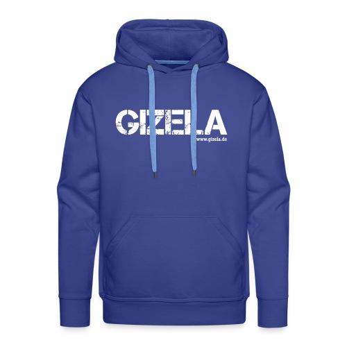 GIZELA white - Männer Premium Hoodie