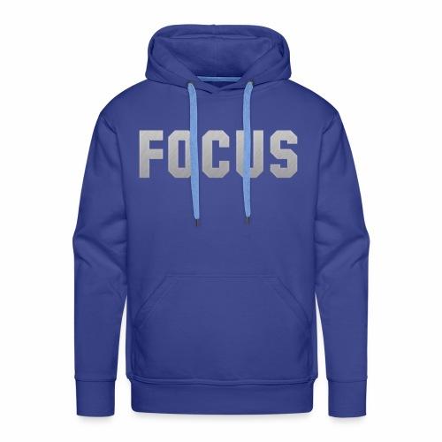 FOCUS - Men's Premium Hoodie
