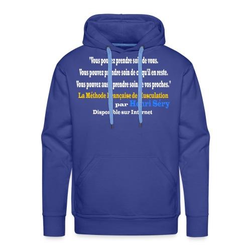 LMF Sante v2 - Sweat-shirt à capuche Premium pour hommes