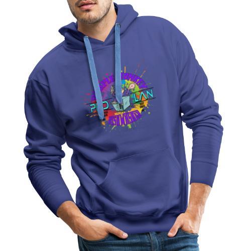 PMD Colour Burst - Men's Premium Hoodie