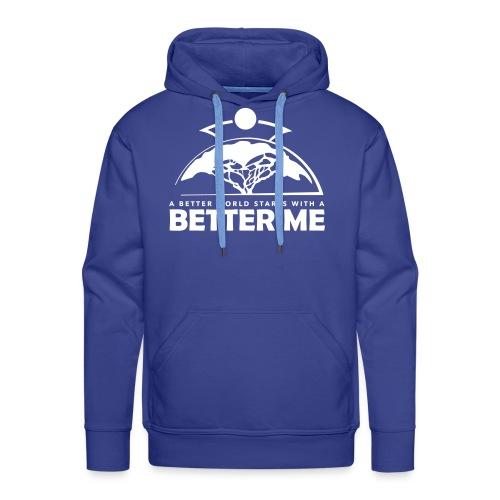 Better Me - White - Männer Premium Hoodie