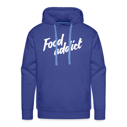 Food addict - Sweat-shirt à capuche Premium pour hommes