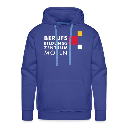 BBZ Logo weisse Schrift Schulkleidung.eps - Männer Premium Hoodie