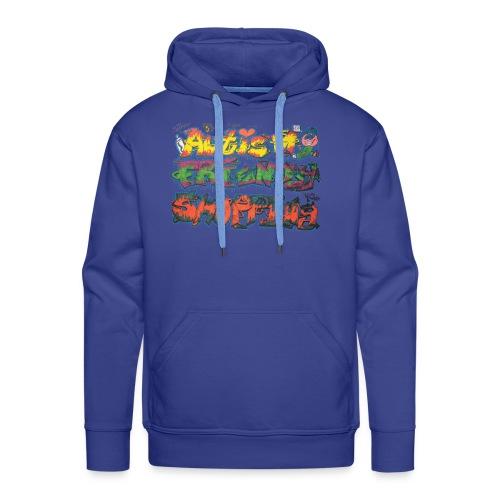 Autism Friendly Shopping Graffiti Style - Men's Premium Hoodie
