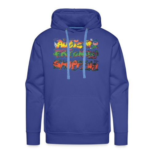 Autism Friendly Shopping Graffiti Style - Men's Premium Hoodie
