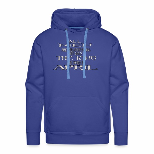 KING AVRIL - Sweat-shirt à capuche Premium pour hommes