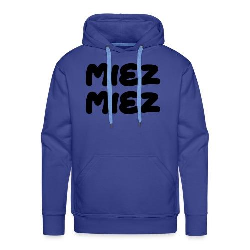 Miez Miez - frei veränderbar - als Vektor - Männer Premium Hoodie