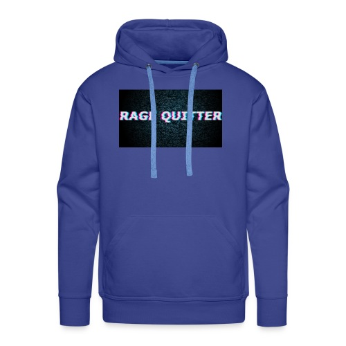 Rage Quitter Design 1 - Men's Premium Hoodie
