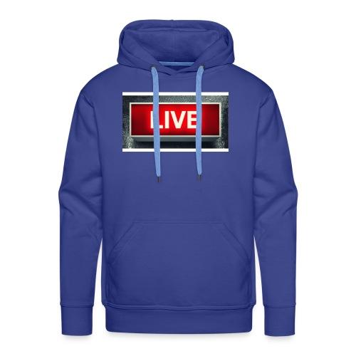 live bord youtube - Mannen Premium hoodie