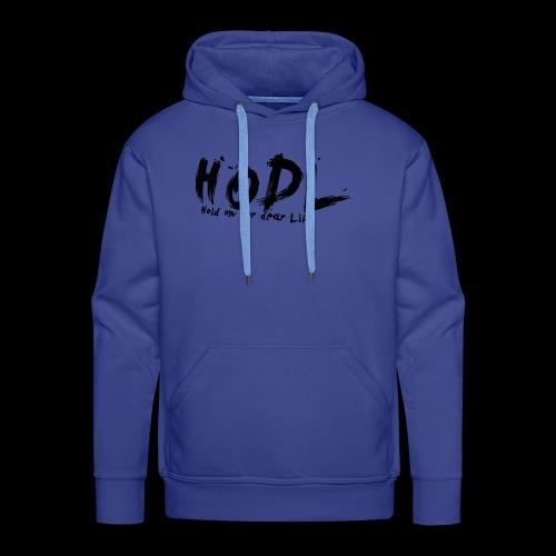 HODL | Crypto Shirt - Männer Premium Hoodie