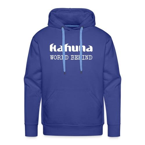 Kahuna Logo und Album - Männer Premium Hoodie