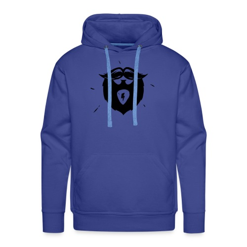 Studio Brewdio Logo Black Just Beard - Men's Premium Hoodie