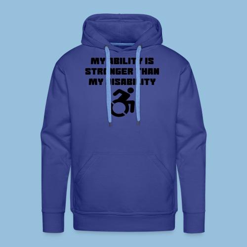 Ability2 - Mannen Premium hoodie