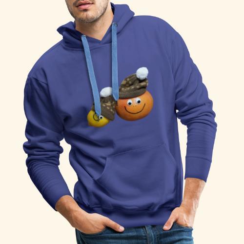 Love Fruits - Sweat-shirt à capuche Premium pour hommes