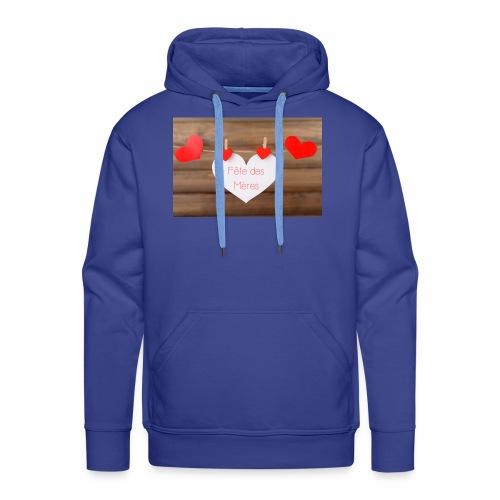 Fête des mères - Sweat-shirt à capuche Premium pour hommes