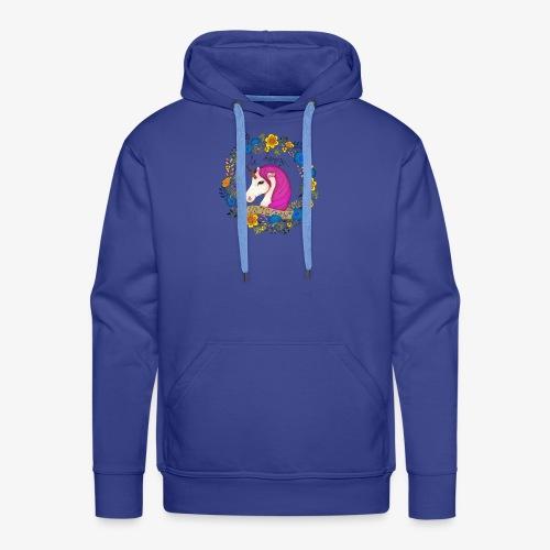Be happy... Unicorn ! - Sweat-shirt à capuche Premium pour hommes