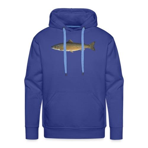 Zielfisch Lachs - Männer Premium Hoodie