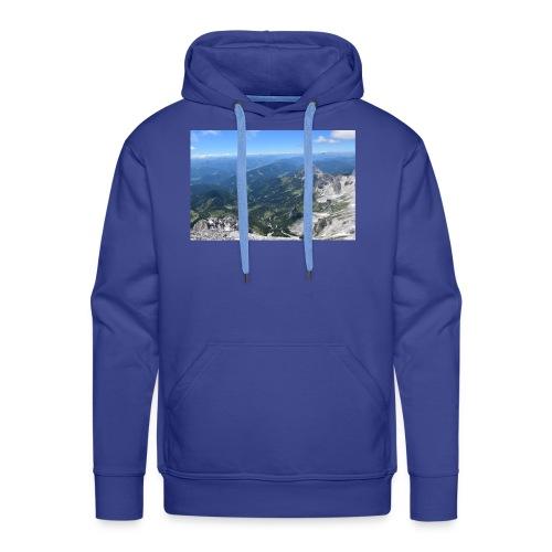 Der Dachstein aussicht - Männer Premium Hoodie