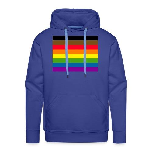Philadelphia Gay Pride Flag - Men's Premium Hoodie