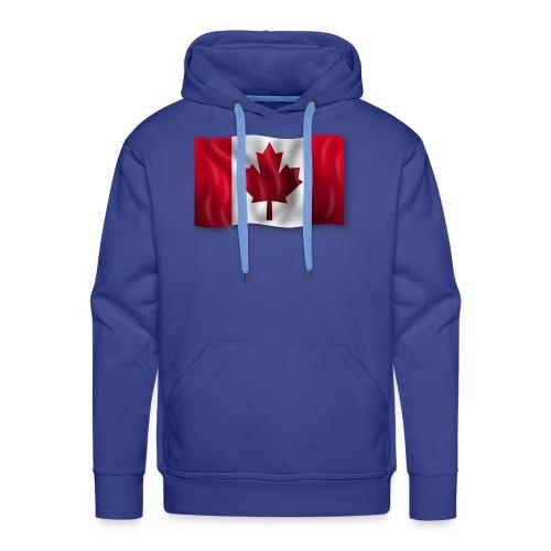 Canada Kanada Flagge cool stylish - Männer Premium Hoodie