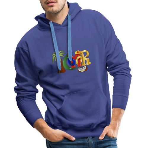 Com'OR - Sweat-shirt à capuche Premium pour hommes