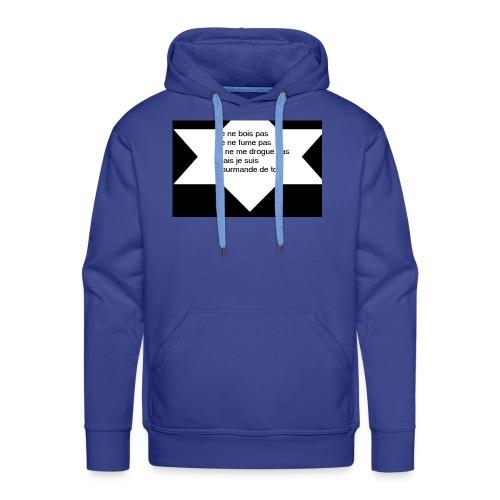 je ne pas - Sweat-shirt à capuche Premium pour hommes
