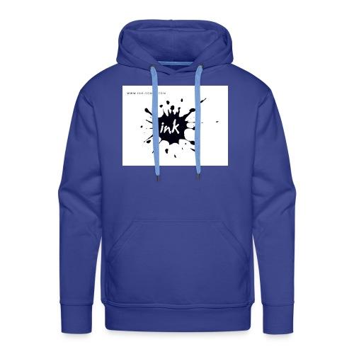 Ink Logo and website - Men's Premium Hoodie