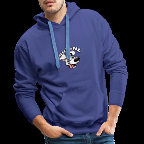 DoggieNL Logo - Mannen Premium hoodie