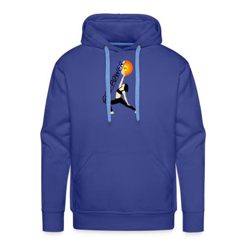 girl power - Sweat-shirt à capuche Premium pour hommes