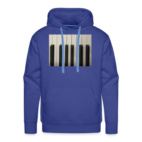 Piano T-Shirt - Männer Premium Hoodie
