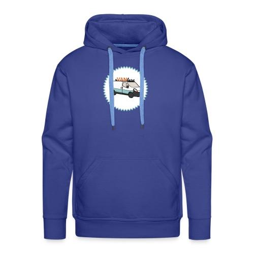 aVANture - Sweat-shirt à capuche Premium pour hommes