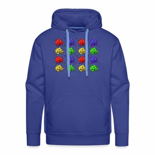plantos - Sweat-shirt à capuche Premium pour hommes