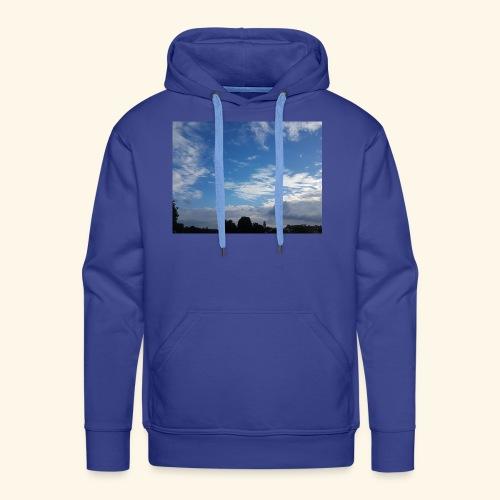 himmlisches Wolkenbild - Männer Premium Hoodie