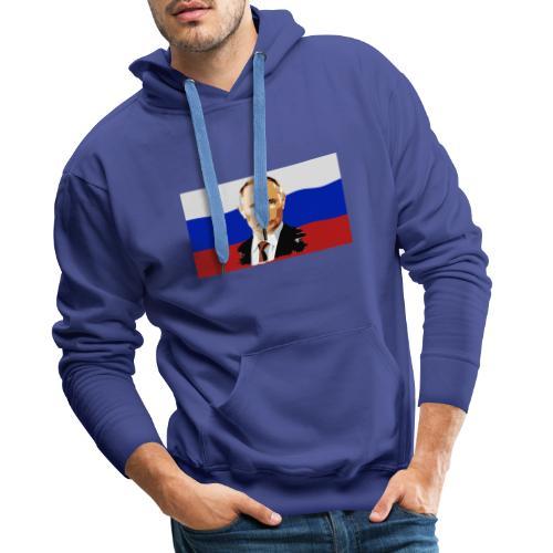 Putin - Männer Premium Hoodie