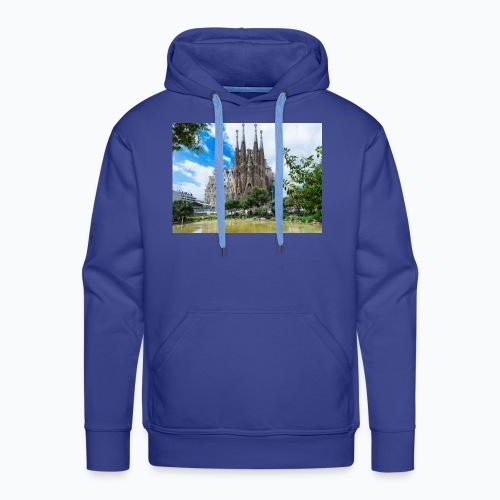 Camisa de la sagrada família - Sudadera con capucha premium para hombre