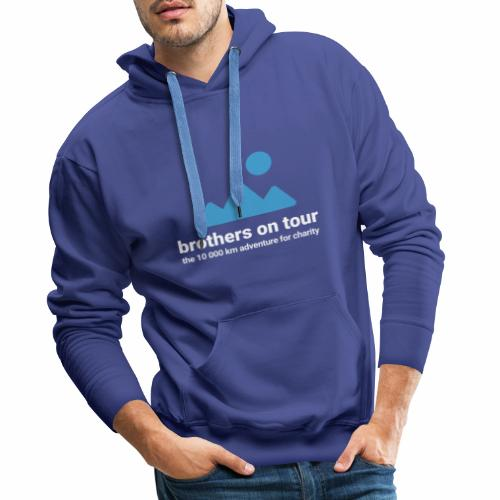 Brothers on Tour - Logo 1 - Männer Premium Hoodie