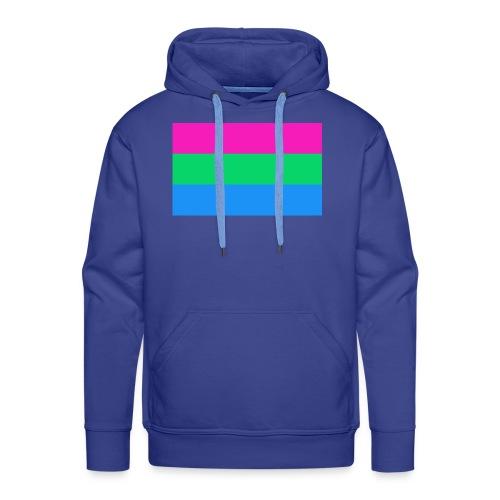 Polysexual Pride Flag - Men's Premium Hoodie
