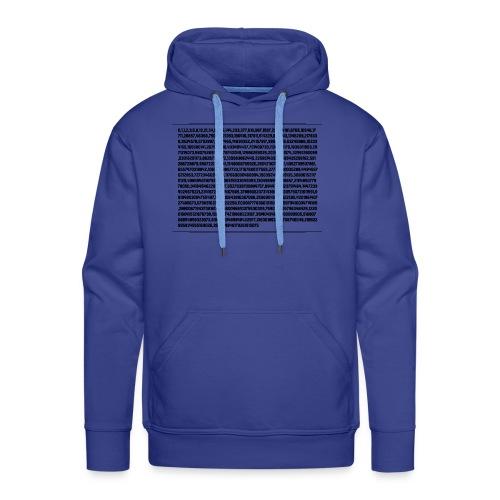 Fibonacci Shirt - Men's Premium Hoodie