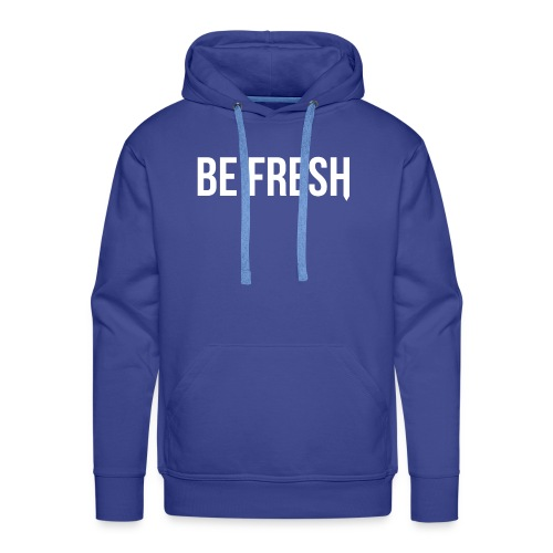 Be Fresh Snapback - Mannen Premium hoodie