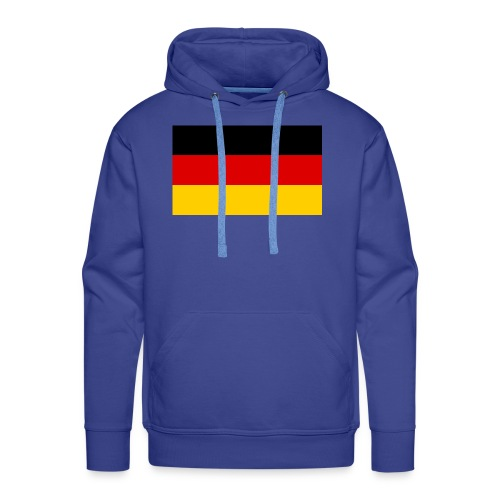 2000px Flag of Germany svg - Männer Premium Hoodie