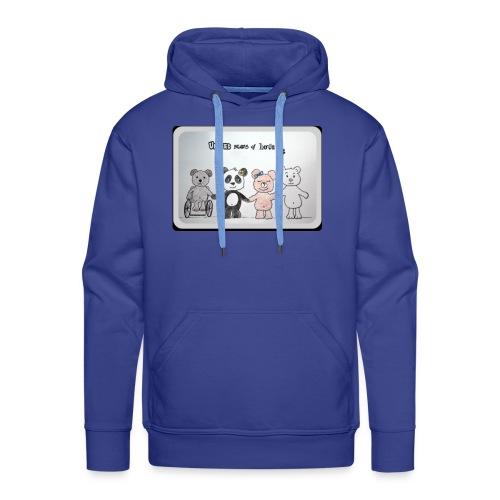 United bears of love - Sweat-shirt à capuche Premium pour hommes