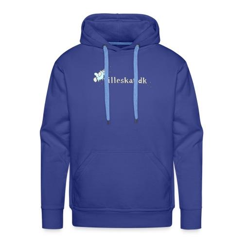 lilleskat_logo_-1- - Herre Premium hættetrøje
