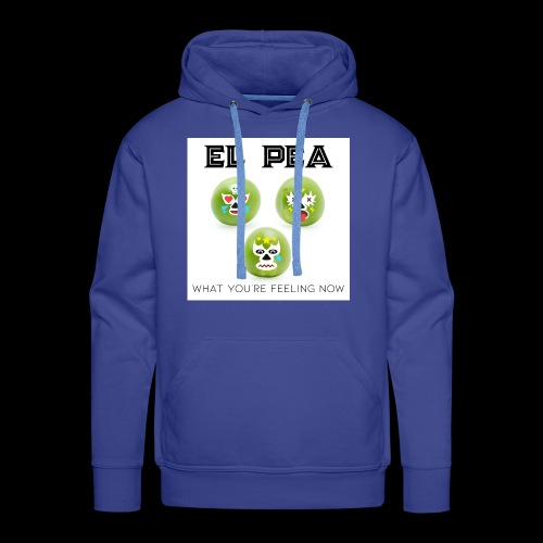 EL Pea - What You re Feeling Now - Men's Premium Hoodie