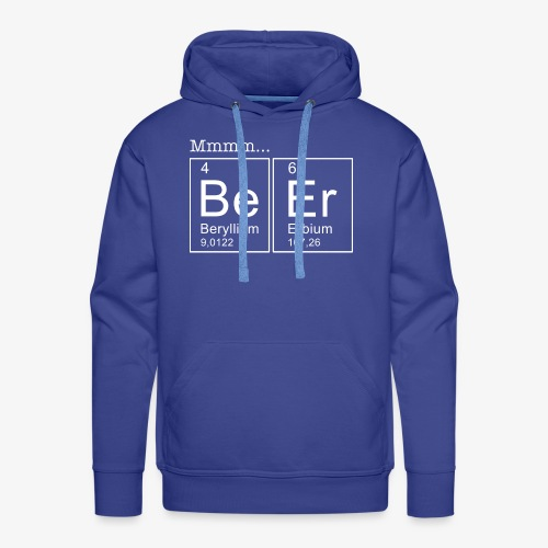 Beer Periodic Table of Elements - Männer Premium Hoodie